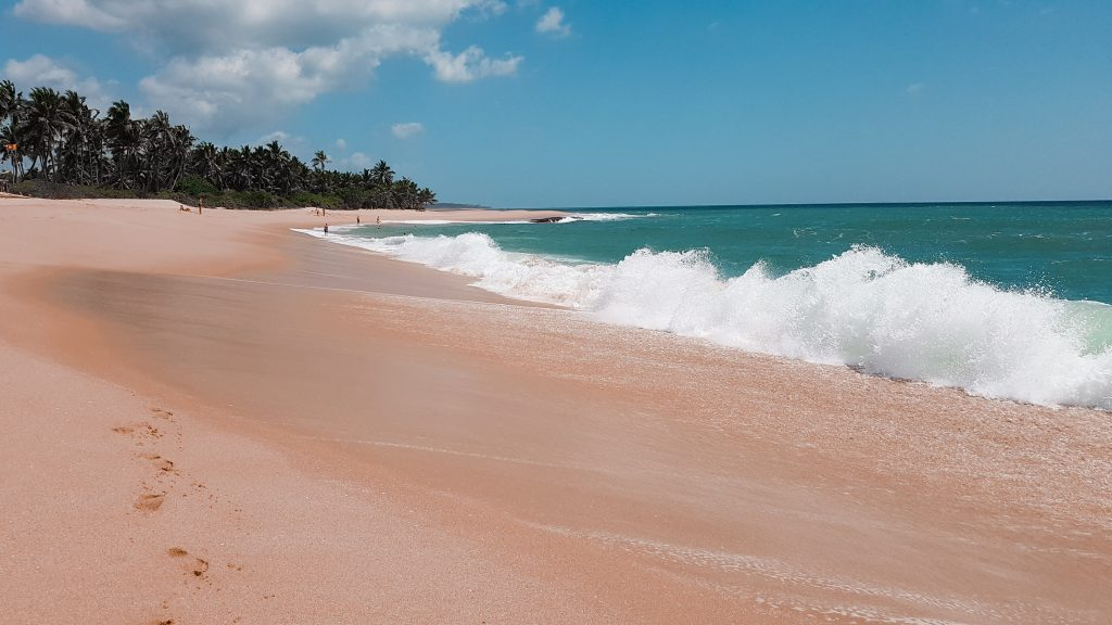 plaje din Sri Lanka